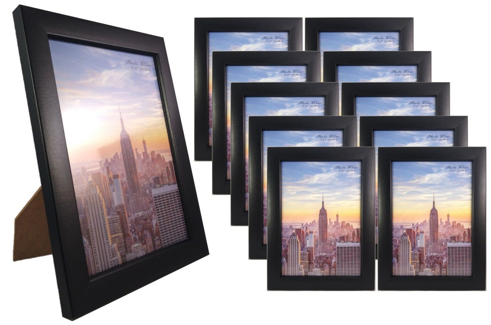 Frame Amo Black Picture Frame With Glass Front Face Wall Or Table 1 3 10 Pack Picture On Wood Wood Picture Frames Barn Wood Picture Frames