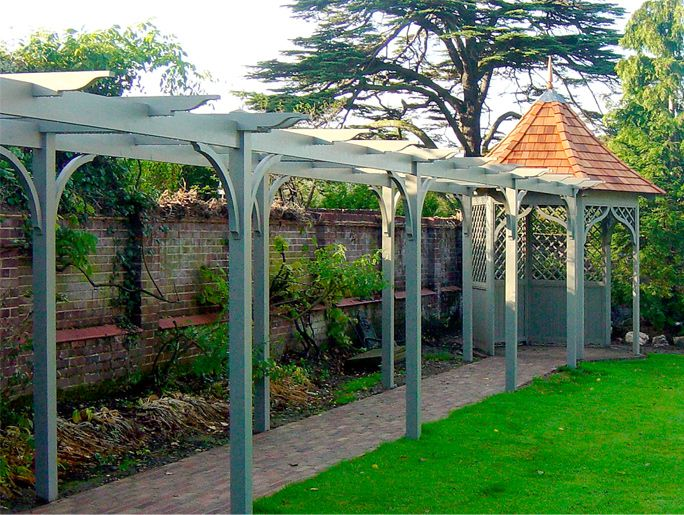 Lloyd Christie Garden Architecture London   Pergolas U0026 Tunnel Arbours,  Bespoke Garden Joinery / Structures