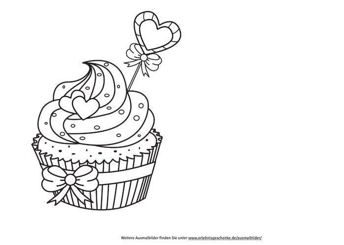 Ausmalbilder Cupcake Cupcake Sweets Henna Cupcakes Und Diy