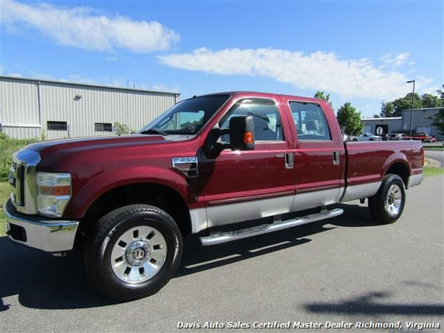 2008 Ford F 250 Super Duty Xlt Diesel 4x4 Crew Cab Long Bed