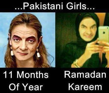 Pakistani Girls in Ramadan