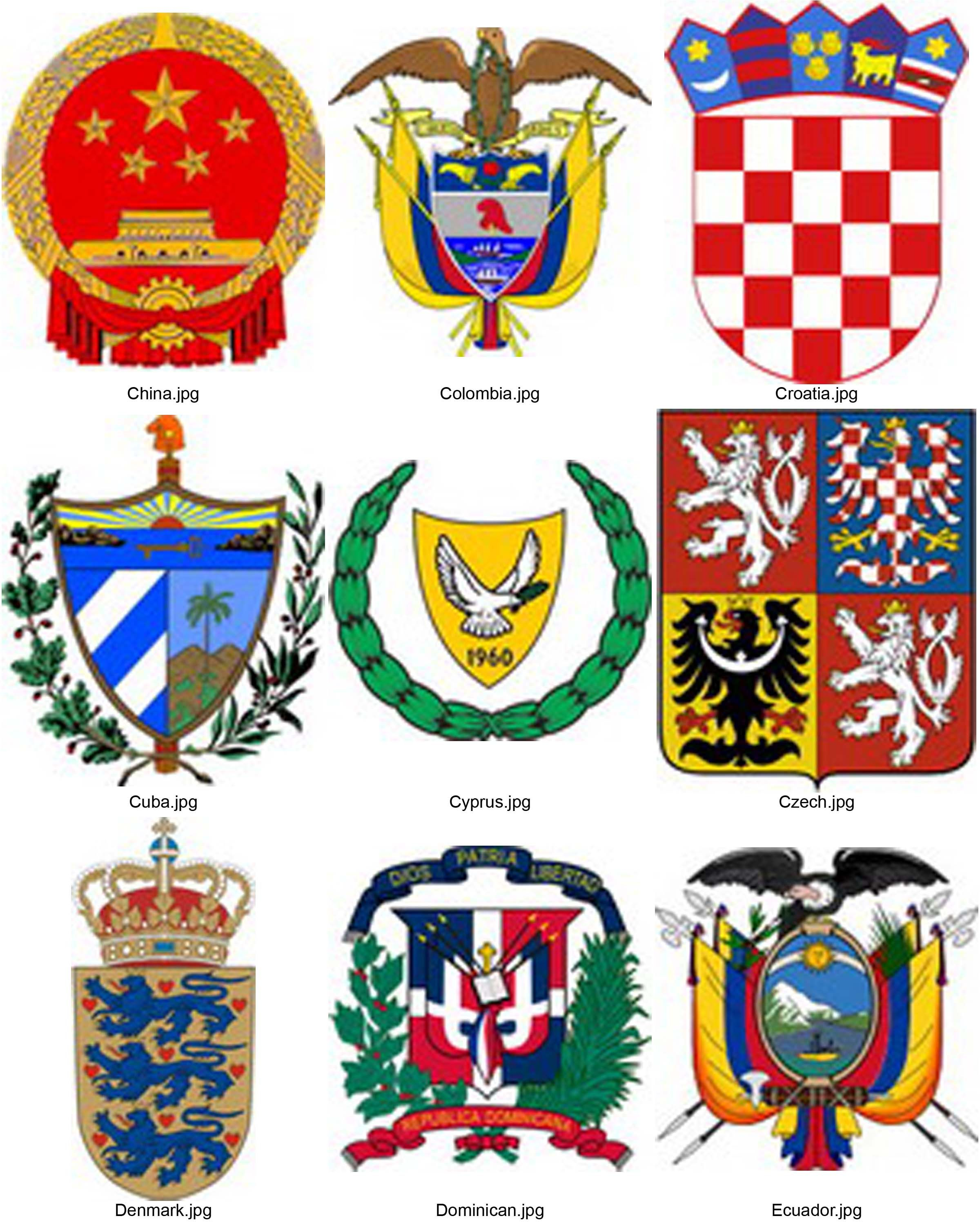 National Emblem's of the world country | National Emblem's