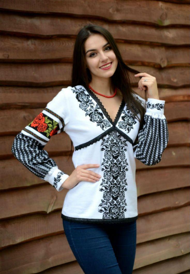 Традиційна борщівська жіноча вишиванка 884c6a3681c6c