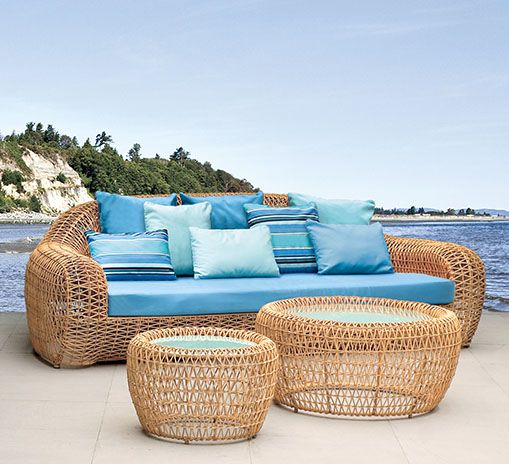 Kenneth Cobonpue  Collections  BALOU Outdoor Furniture - balou rattan mobel kenneth cobonpue
