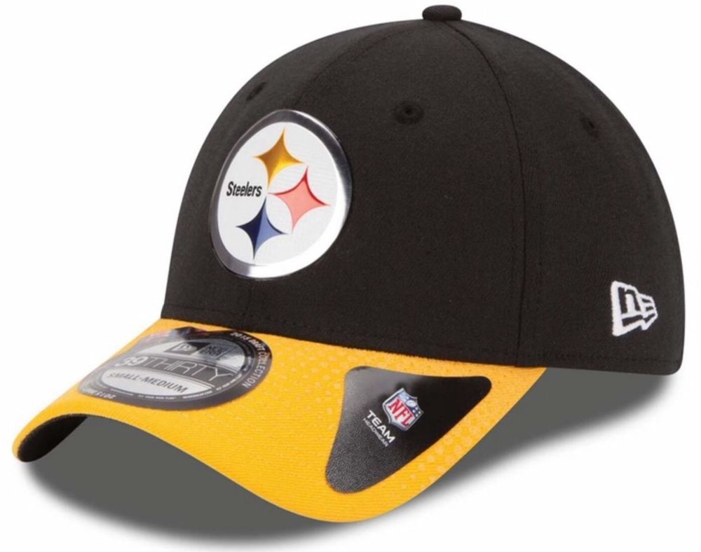 Pittsburgh Steelers New Era 39Thirty Draft Day Collection M L Fitted Cap Hat   NewEra  PittsburghSteelers 3e8d230c7d5