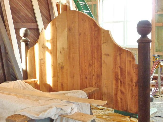 for the love of a house: the making of a headboard