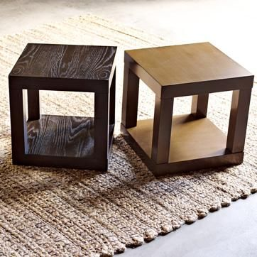 Astounding Tables Parsons Cube Side Table White West Elm White Download Free Architecture Designs Lukepmadebymaigaardcom