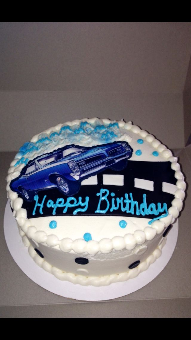 Boy toys car cake 1966 GTO Cake Kouture by Char Denver CO For