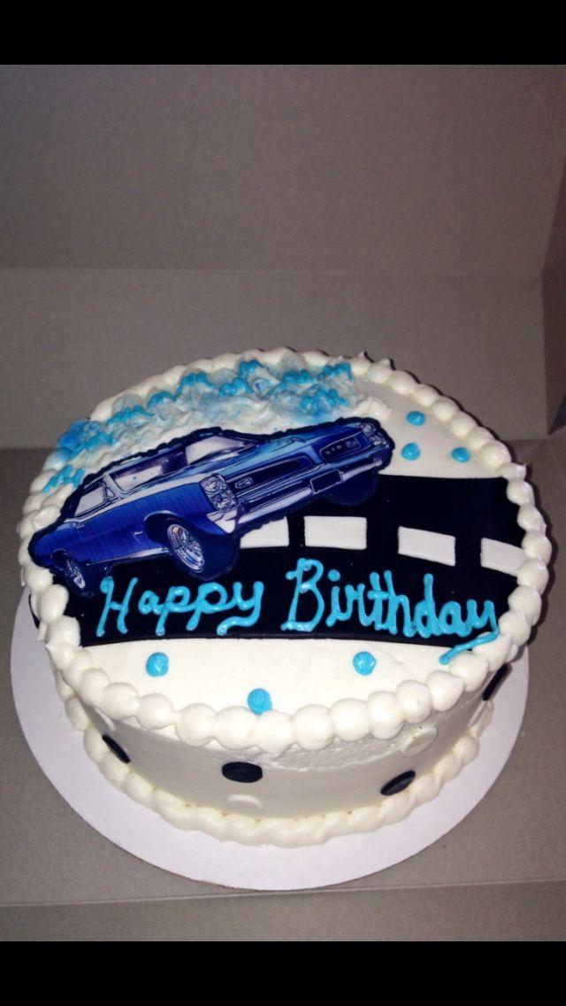 Boy Toys Car Cake 1966 Gto Cake Kouture By Char Denver