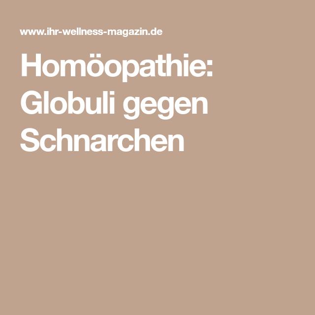 Homöopathie Gegen Schnarchen