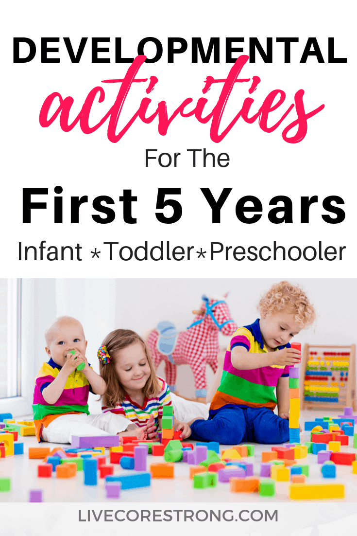 Developmental Activities For The First Five Years Live