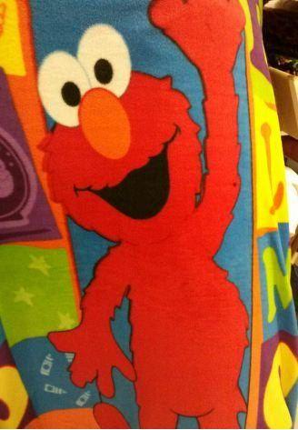 Elmo Panel Fleece Fabric By The Yard By Reneeschoicefabrics