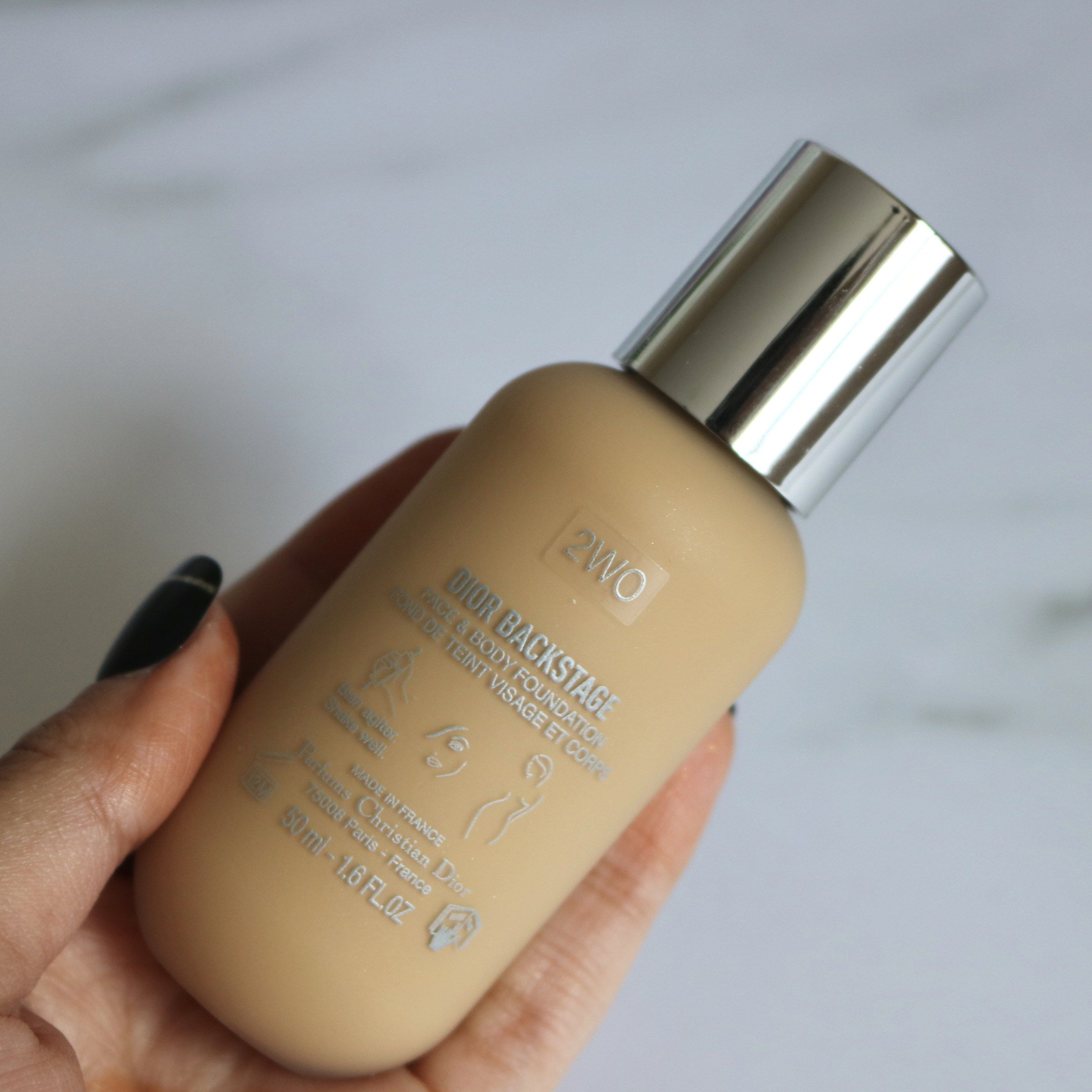 b2c56c85 Dior Backstage Face And Body Foundation (Shade 2WO, Warm Olive ...