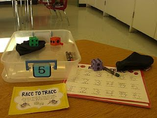 math workstations ideas... includes lots of free printables