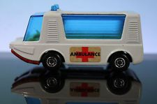 MATCHBOX STRETCHA FETCHA AMBULANCE No.46 LESNEY SUPERFAST 1971 DIECAST VAN #oldtoysandcollectables #diecastcars #cars