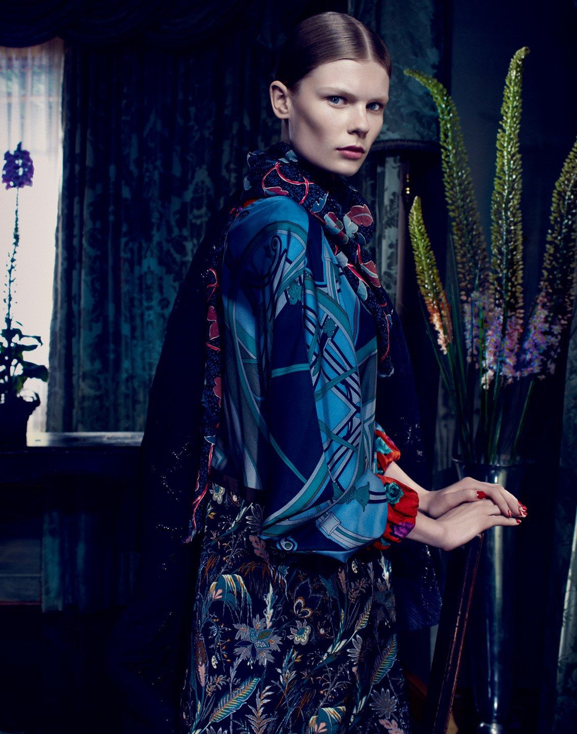 Doll House: Alexandra Elizabeth by Emma Summerton for Vogue China November 2014