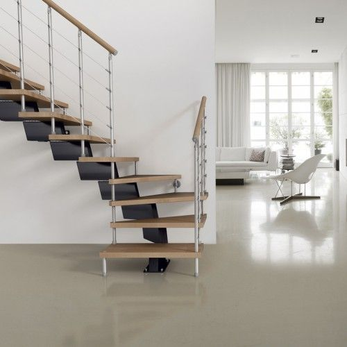 Outdoor Floating Stairs Florida Project: Metal Stairs, Open Staircase, Stairs