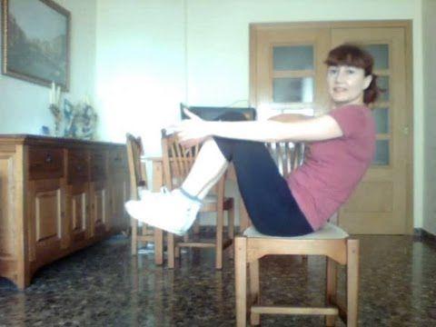 Rutina abdominal en silla super efectiva para hacer delante de la tv en el trabajo - Sillas para hacer el amor ...