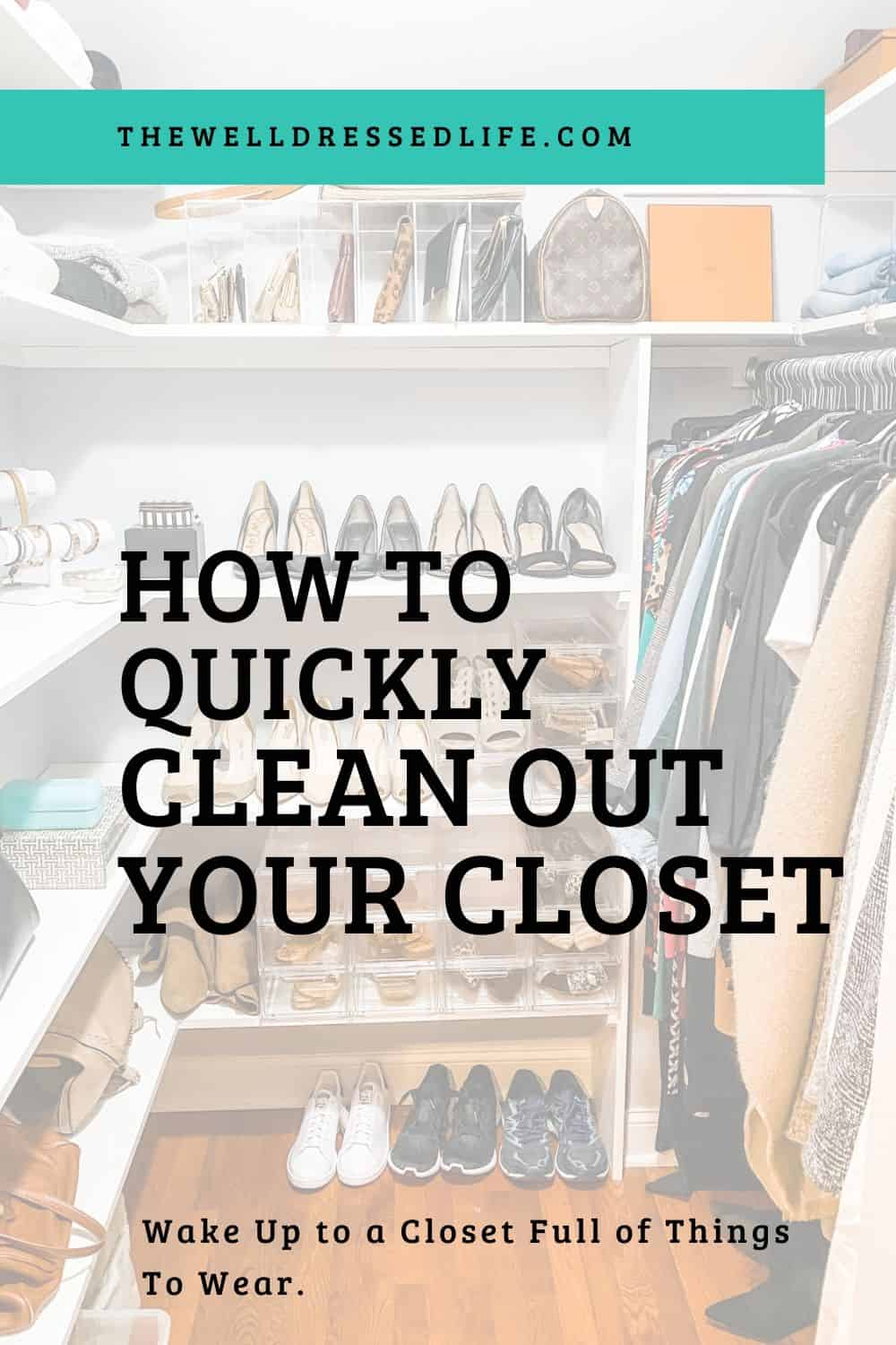 How To Clean Out Your Closet in 2020 Cleaning, Cleaning