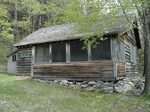 Robert Frost S Cabin Near Ripton Vt New England States Vermont New England