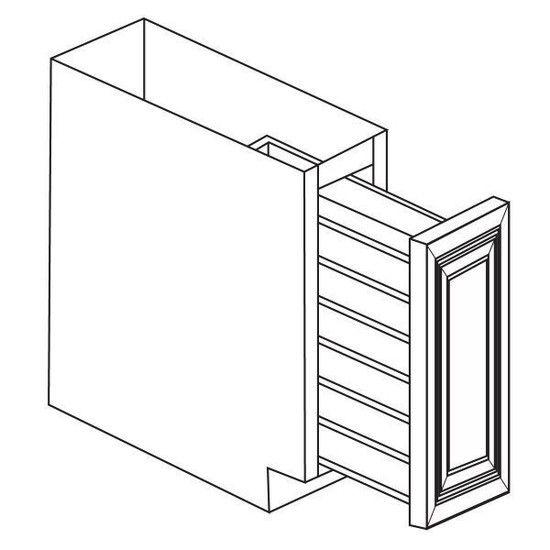 Best Base Spice Rack 9 X24 X34 5 Shgy Cabinets To Go Grey 640 x 480