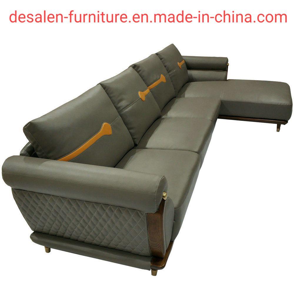 Hot Item 2019 New Arrival Ciff Furniture Modern Leather Sofa B08
