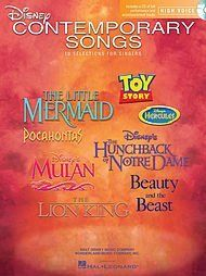 Hal Leonard Disney Contemporary Songs for High Voice Book/CD, http://www.amazon.com/dp/B0064RMVB4/ref=cm_sw_r_pi_awdm_GTGEvb0QXWT2R