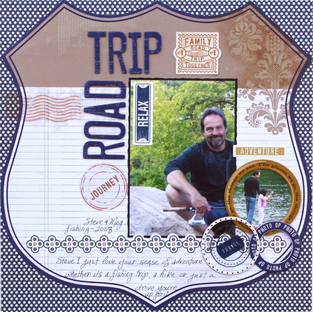 How to scrapbook a road trip - Road Trip Scrapbook Com