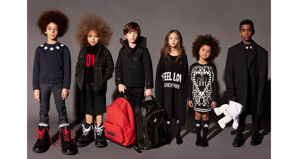 Givenchy Dévoile Sa Première Collection Enfant - Pret a porter enfant