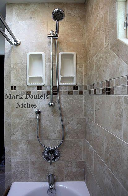 Recessed Shampoo Soap Holders Tile Shower Shelf Shower Tile