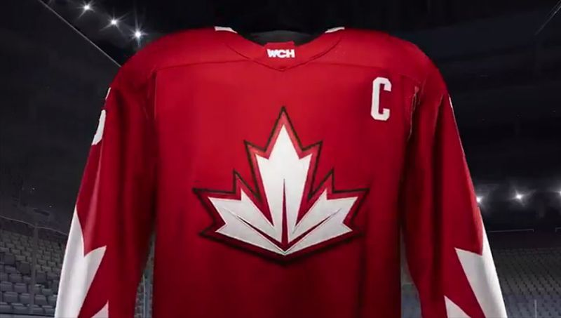 Nhl Team Canada Jersey For 2016 World Cup Of Hockey Hockey World Cup Hockey Jersey Team Canada Hockey