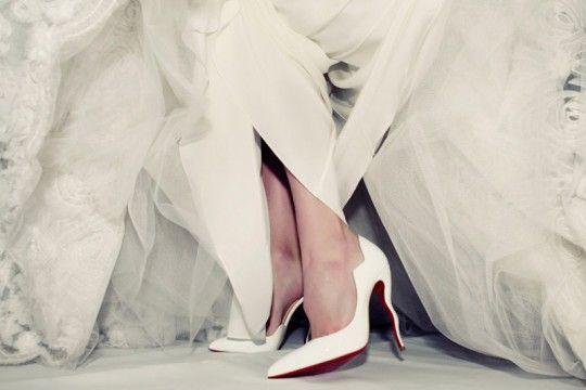 Sapato de noiva marcas internacionais