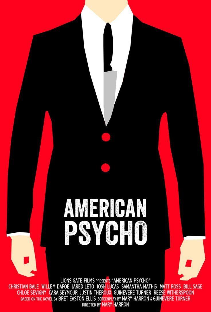 ситуация кино американский психопат постеры фильм получил гран-при