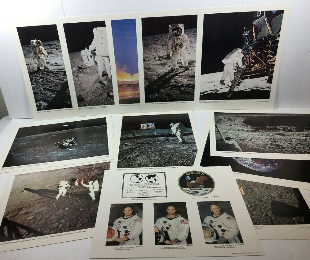 "A Trip to the Moon  14 x 11/"" Photo Print"
