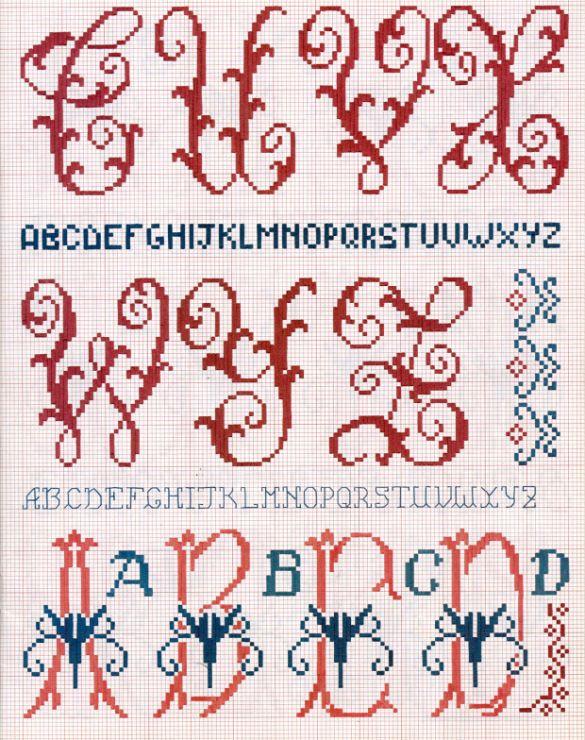 Gallery.ru / Фото #15 - Le idee di Susanna - Enciclopedia degli alfabeti - natalytretyak