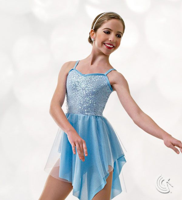 Curtain Call Costumes®   Open Arms Contemporary Dance Costume Available In  3 Colors.