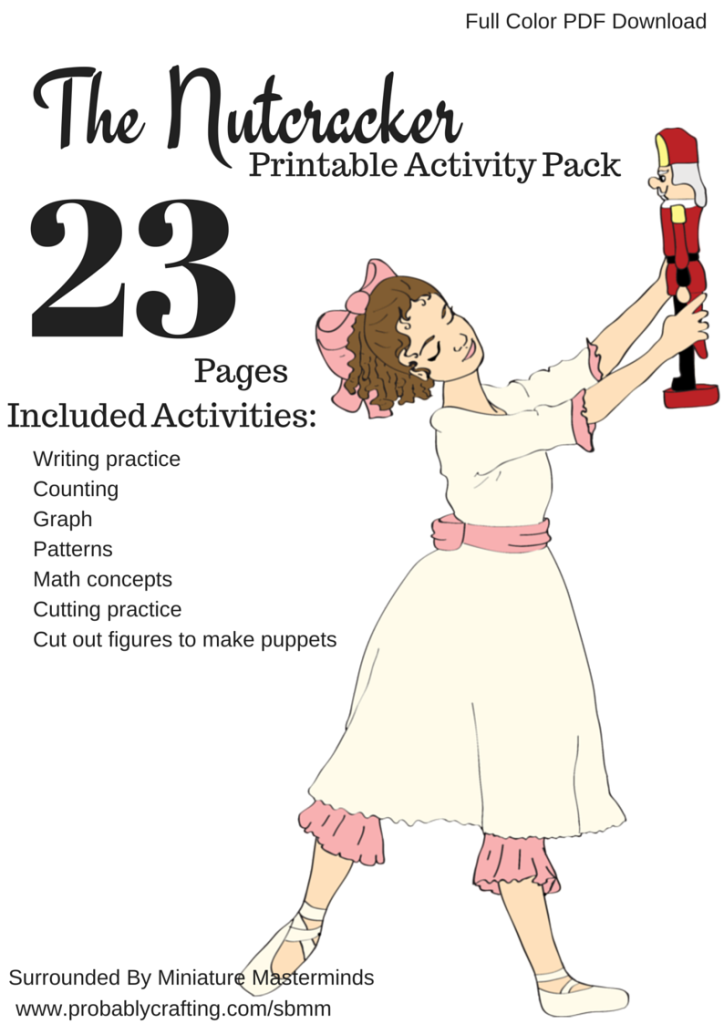 graphic regarding Nutcracker Worksheets Printable known as The Nutcracker Preschool Free of charge Printable Worksheet and