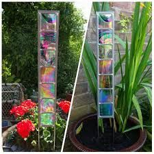 Image Result For Stained Glass Garden Panels