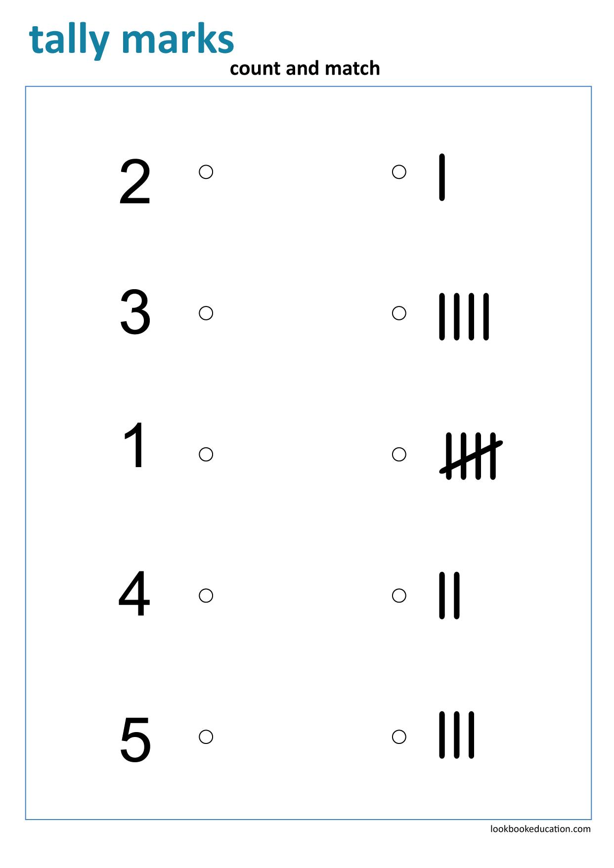 Worksheet Tally Marks Worksheets Numbers Preschool First Grade Worksheets [ 1756 x 1242 Pixel ]