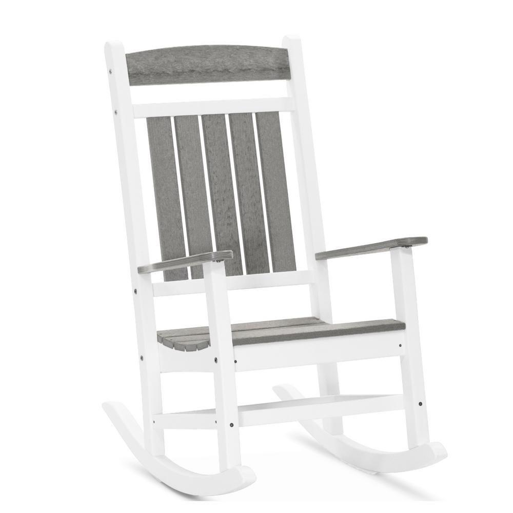 Durogreen Classic Rocker Black Plastic Outdoor Rocking Chair Outdoor Rocking Chairs Rocking Chair Chair
