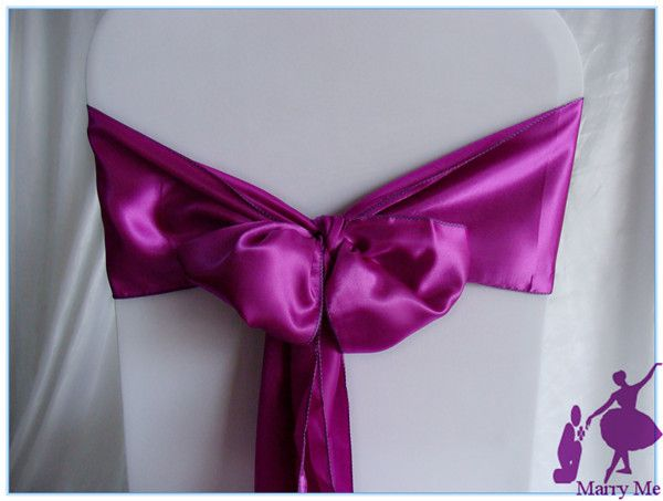 Wedding Supplies Satin Chair Sashes Bandeaus Silks And Satins Belt