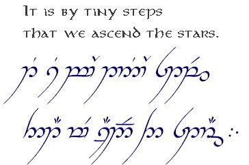 Tolkien Lord Of The Rings Tattoo Elvish Writing Elvish Tattoo