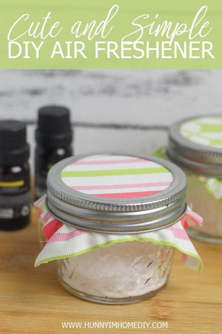 Diy air freshener with essential oils homemade air