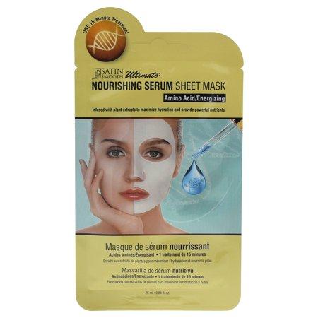 Nourishing Serum Sheet Mask by Satin Smooth for Unisex