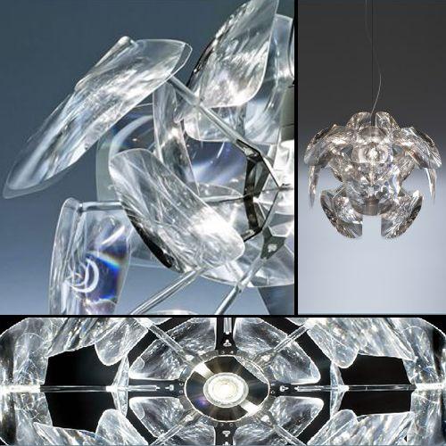 """""""Hope""""... lámpara de suspensión  diseñada por Paolo Rizzatto y Francisco Gómez Paz para LucePlan."""