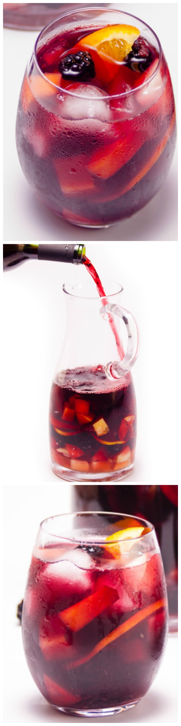 Summer Fruit Red Wine Sangria - A fuss-free, classic sangria loaded with summer fruits.