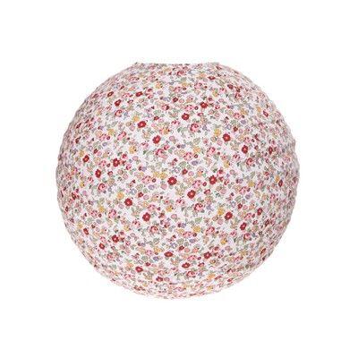 top boule japonaise en tissu fleuri with abat jour boule japonaise. Black Bedroom Furniture Sets. Home Design Ideas