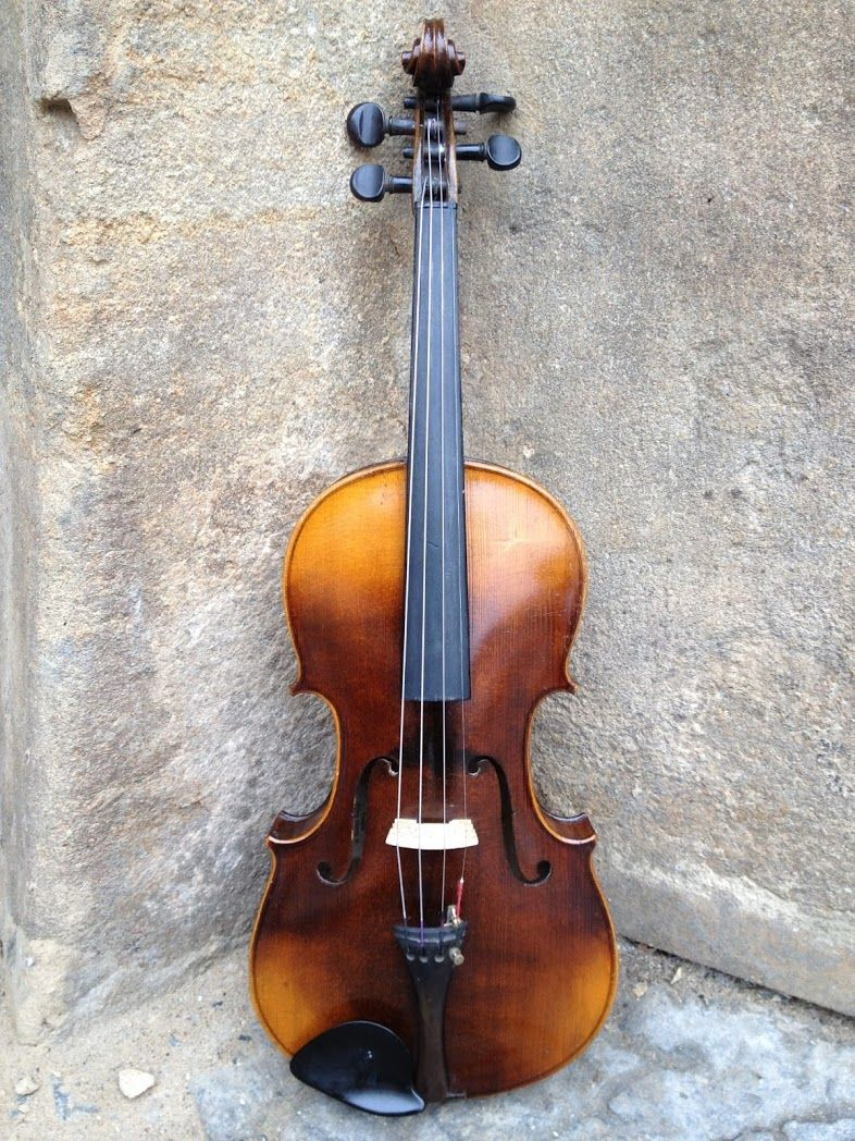 Housle 529 Violin Ignaz Beer Violin Biola Music Instruments