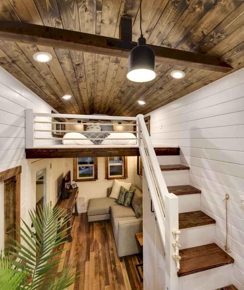 62 Cool Tiny House Interior Design Ideas In 2020 Tiny House Loft