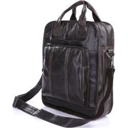 Photo of Shiver Dunkelbraune Ledertasche Delton BagsDelton Bags